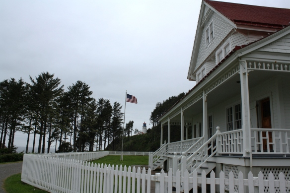 Heceta Lighthouse and keepers house