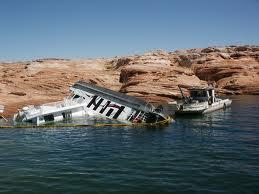 Sunken Houseboats