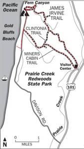 PrairieCreektrailmap